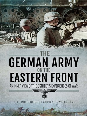 cover image of The German Army on the Eastern Front
